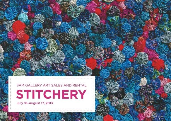 Stitchery Postcard