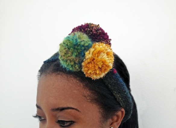 pom-pom headband, Come make your own!