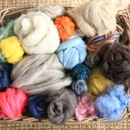 wool basket