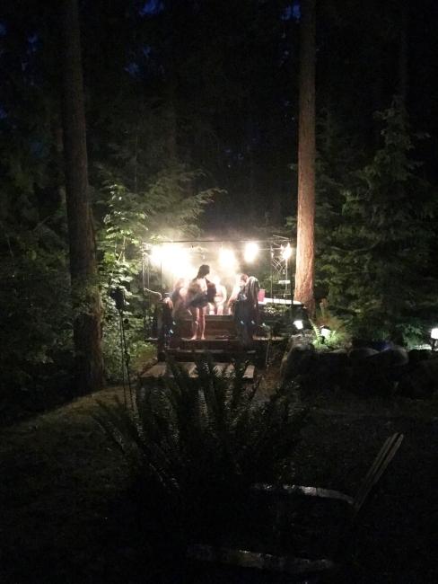 nightime hottub fun